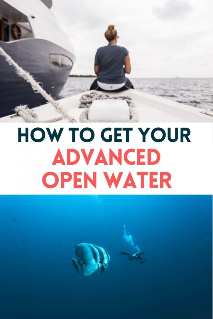 Pin for Advanced Open Water