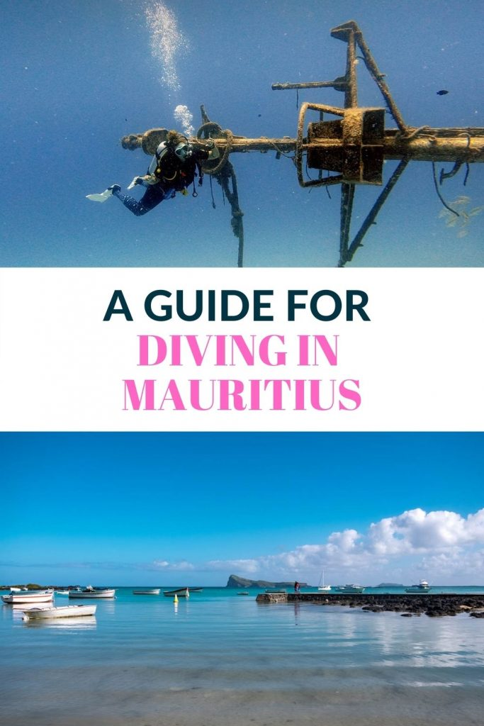 Pin for Scuba diving in Mauritius