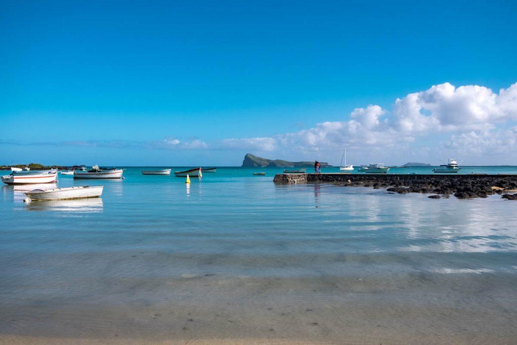 Cap Malheureux in Mauritius