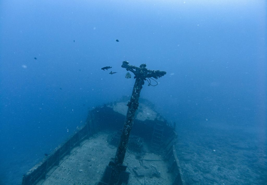 Silver Star Wreck in Mauritius