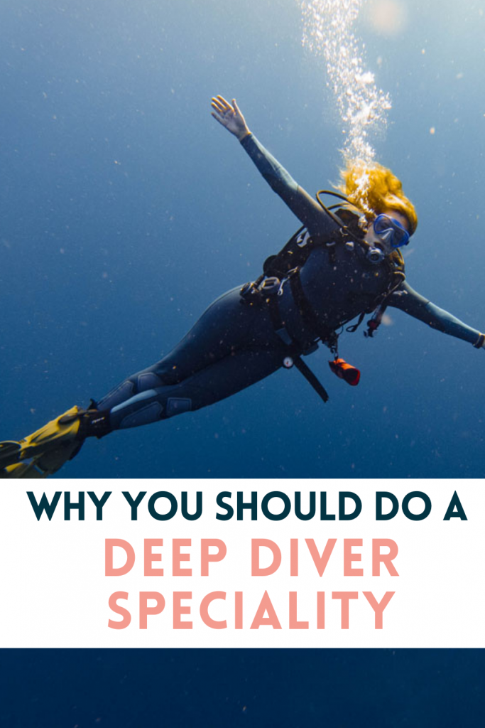 Pin for Deep Diver course